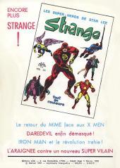 Verso de Strange -26- Strange 26