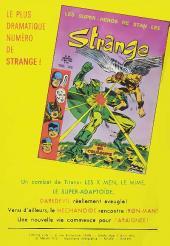 Verso de Strange -28- Strange 28