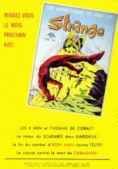 Verso de Strange -30- Strange 30