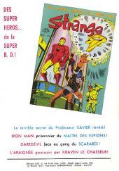 Verso de Strange -31- Strange 31