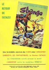 Verso de Strange -34- Strange 34