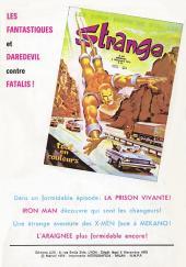 Verso de Strange -35- Strange 35