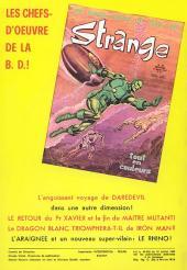 Verso de Strange -38- Strange 38