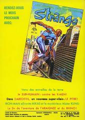 Verso de Strange -40- Strange 40
