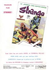 Verso de Strange -43- Strange 43