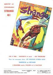 Verso de Strange -45- Strange 45