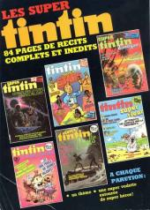 Verso de (Recueil) Tintin Super -33- Jungle