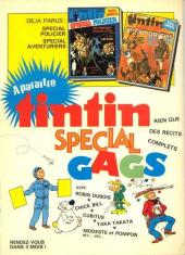 Verso de (Recueil) Tintin Super -3- Spécial records
