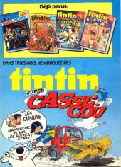 Verso de (Recueil) Tintin Super -5- Spécial western