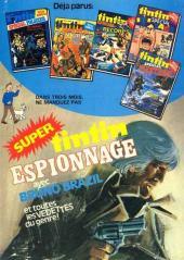 Verso de (Recueil) Tintin Super -6- Super casse-cou