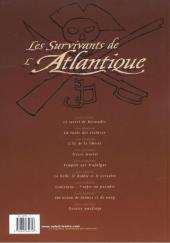 Verso de Les survivants de l'Atlantique -9- Dernier naufrage