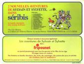 Verso de Sylvain et Sylvette (06-série : collection Fleurette 2e série) -7- L'ours et l'agneau