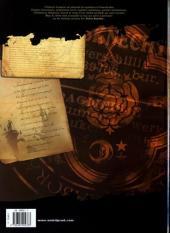 Verso de Le syndrome de Caïn -4- La rose et la croix