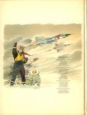 Verso de Tanguy et Laverdure -13- Lieutenant Double Bang