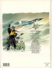 Verso de Tanguy et Laverdure -23- Plan de vol pour l'enfer