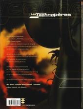 Verso de Les technopères -6- Les secrets du Techno-Vatican