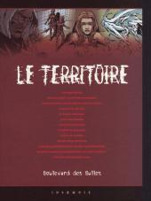 Verso de Le territoire -1TL- Nécropsie