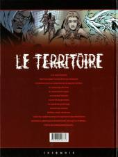 Verso de Le territoire -1- Nécropsie