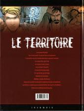 Verso de Le territoire -2- Hypnose