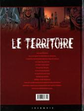 Verso de Le territoire -3- Disparition