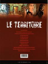 Verso de Le territoire -4- Frontière