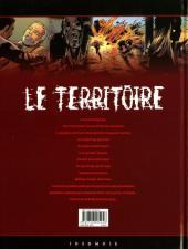 Verso de Le territoire -5- Palingénésie