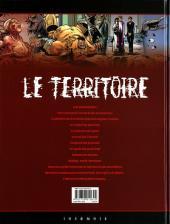 Verso de Le territoire -6- Avènement