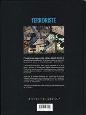 Verso de Terroriste -2- Naples : Un Général de l'US Air Force tué par une bombe !