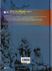 Verso de Tête de nègre -1- Livre 1
