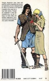 Verso de Thorgal -1Poch- La Magicienne trahie