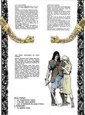 Verso de Thorgal -3- Les trois vieillards du pays d'Aran