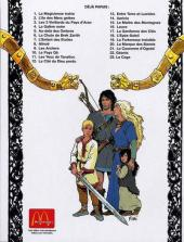 Verso de Thorgal -15Pub- Le Maître des Montagnes