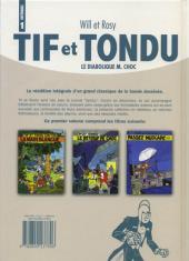 Verso de Tif et Tondu (Intégrale) -1- Le diabolique M. Choc