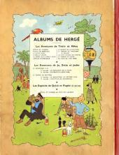 Verso de Tintin (Historique) -11B07- Le Secret de la Licorne