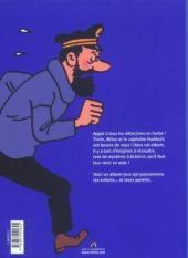 Verso de Tintin - Divers -AJ1- Album-jeux 1
