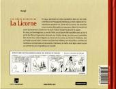 Verso de Tintin - Divers -11- Les Vrais Secrets de La Licorne