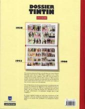 Verso de Tintin - Dossier -71- L'île noire