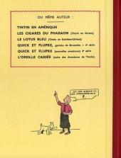 Verso de Tintin (Fac-similé N&B) -2a- Tintin au Congo
