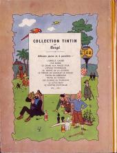 Verso de Tintin (Historique) -2B01- Tintin au Congo