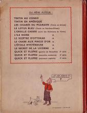 Verso de Tintin (Historique) -6A20- L'oreille cassée