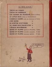 Verso de Tintin (Historique) -8A18- Le sceptre d'Ottokar