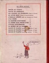 Verso de Tintin (Historique) -9A22- Le crabe aux pinces d'or