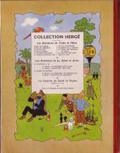 Verso de Tintin (Historique) -16B08- Objectif lune