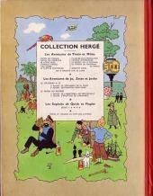 Verso de Tintin (Historique) -17B11- On a marché sur la lune
