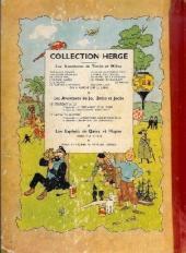 Verso de Tintin (Historique) -7B11- L'île noire