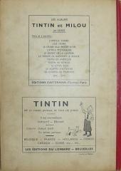 Verso de (Recueil) Tintin (Album du journal - Édition belge) -4- Tome 4