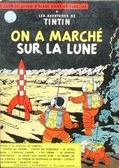 Verso de Tintin (Sélection) - Sélection Tintin 1955