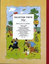 Verso de Tintin (Fac-similé couleurs) -3- Tintin en Amérique