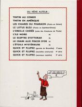 Verso de Tintin (Fac-similé couleurs) -10- L'étoile mystérieuse