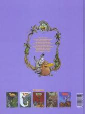 Verso de Toto l'ornithorynque -5- Toto l'ornithorynque et les sœurs Cristalline